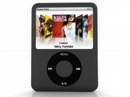 iPod Nano G3 3d preview