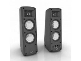 ProMedia Ultra computer speaker 3d model preview