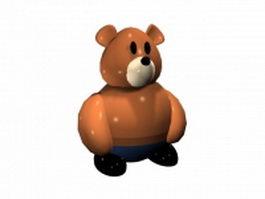 Teddy bear 3d preview
