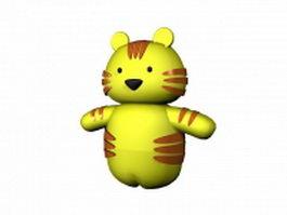 Cartoon tiger 3d preview