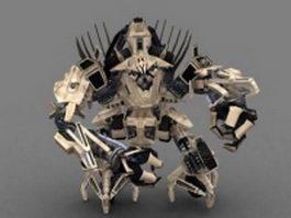 Transformers Bonecrusher 3d model preview