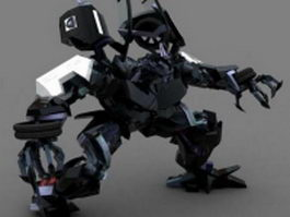 Barricade Micromasters 3d model preview