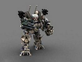 Brawl Transformers 3d model preview
