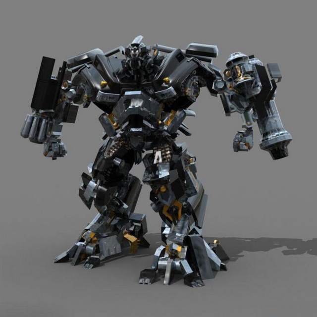 Autobot Ironhide 3d Model 3ds Max Files Free Download