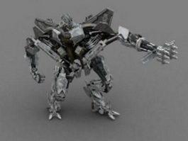 Decepticon starscream 3d model preview