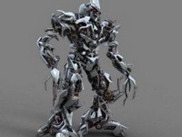 Decepticon Megatron 3d model preview