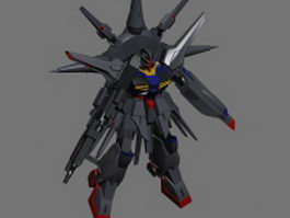 ZGMF-X13A Providence Gundam 3d preview