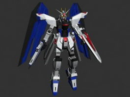 ZGMF-X10A Freedom Gundam 3d preview