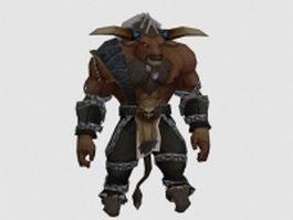 Tauren warrior 3d preview