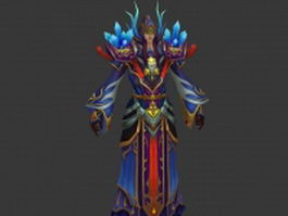 Warrior priest 3d preview