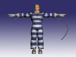 Cody in Super Street Fighter IV 3d model preview