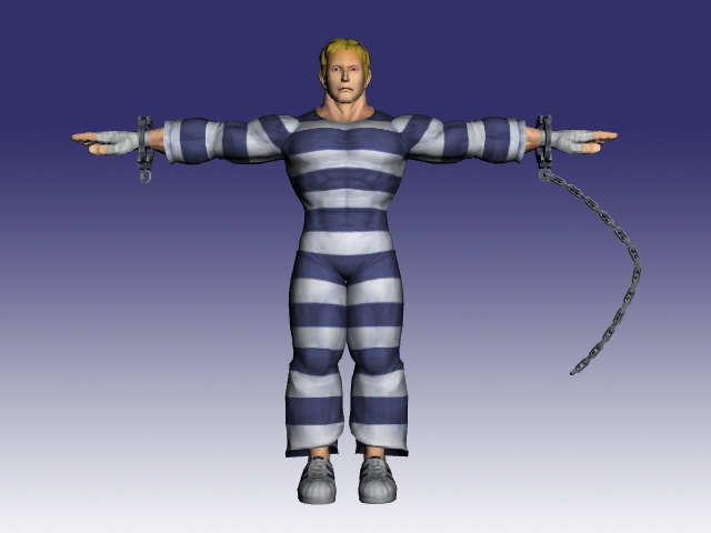 Cody In Super Street Fighter Iv 3d Model Cadnav