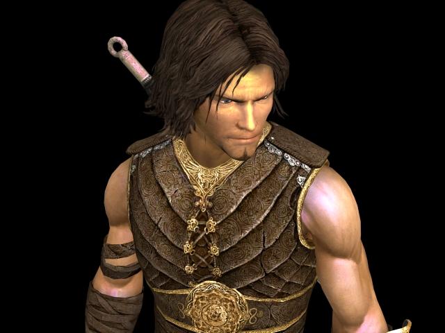 Prince of Persia 3d rendering