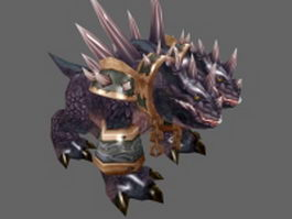 Core hound 3d model preview