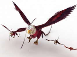 Fantasy eagle 3d preview