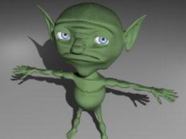 Little goblin 3d preview