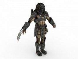 Celtic Predator 3d model preview