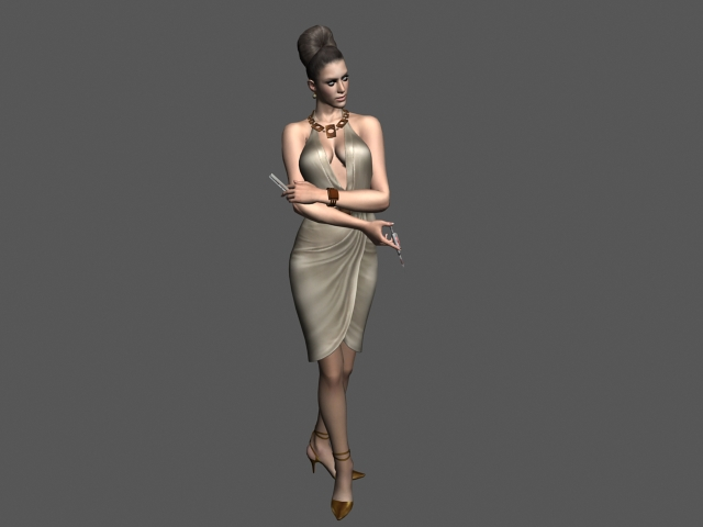 Excella Gionne 3d rendering