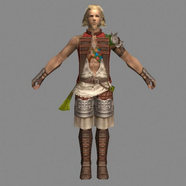 Young Mage Apprentice 3d model 3ds Max,Object files free