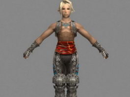 Vaan in Final Fantasy XII 3d model preview