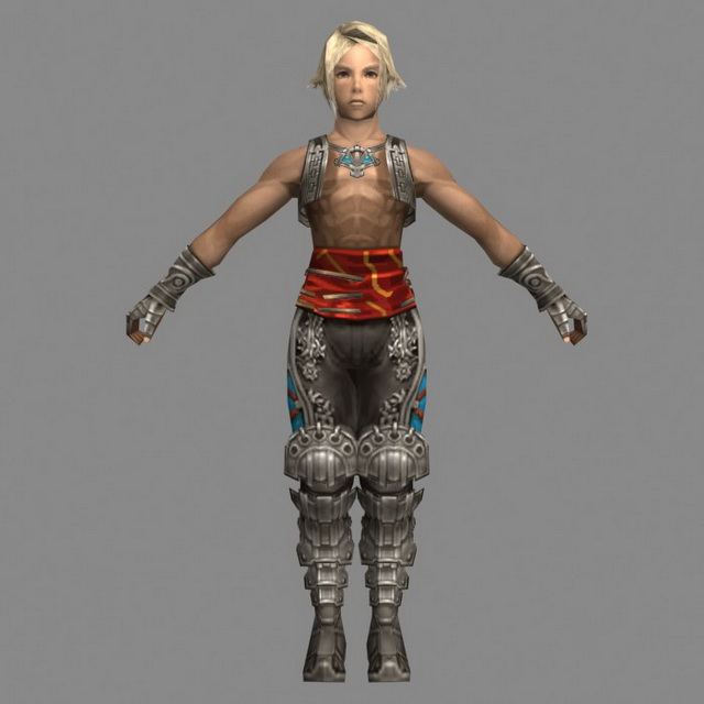 Vaan In Final Fantasy XII 3d Model 3ds Max Files Free