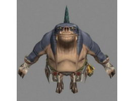 Seeq in Final Fantasy 3d model preview