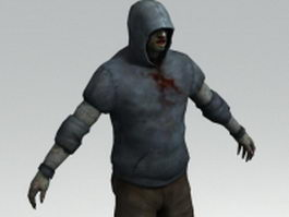 Hunter from Left 4 Dead 3d preview