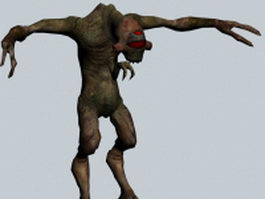 Vortigaunt - Half-Life character 3d preview