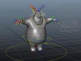 Big Buck Bunny 3d model preview