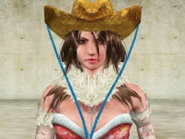Onechanbara Aya 3d preview