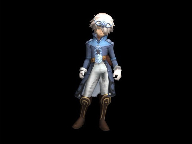 Fantasy young prince 3d rendering