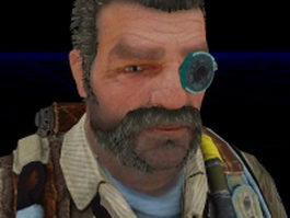 Whit Oliver - Bulletstorm character 3d preview