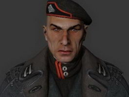 General Victor Sarrano - Bulletstorm character 3d preview