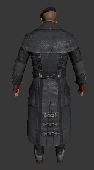 General Victor Sarrano - Bulletstorm character 3d rendering