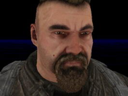 Rell Julian - Bulletstorm character 3d preview