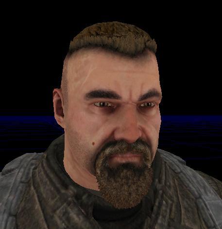 Rell Julian - Bulletstorm character 3d rendering