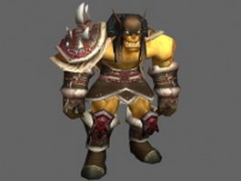 Rexxar Remar - WoW character 3d model preview