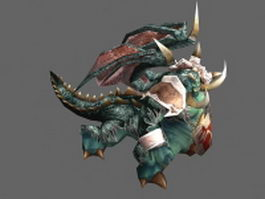Magtheridon - WoW character 3d preview