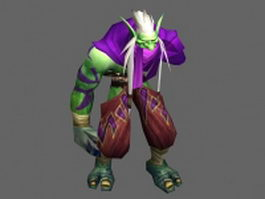 Zuljin - WoW character 3d preview