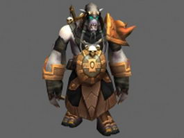 Akama  - WoW character 3d preview