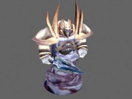 Air elemental creatures 3d preview