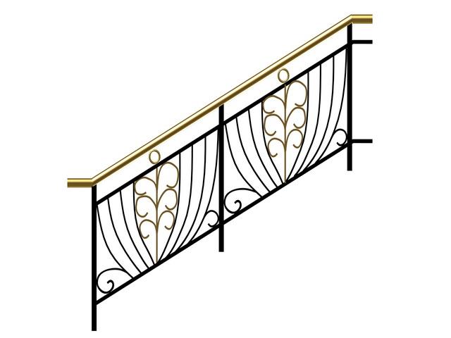 Metal railings 3d model 3ds max files free download ...