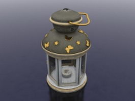 Lantern candle holder 3d preview