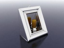 Picture frame candle holder 3d preview