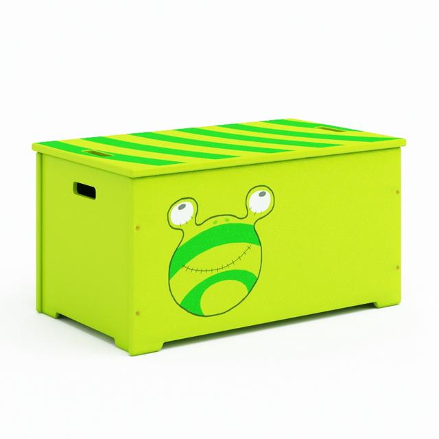 Toy storage box 3d rendering