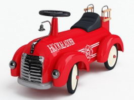 Ride on toy car 3d preview