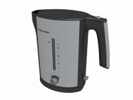 Electrolux water kettle 3d model preview