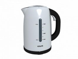 Krups water kettle 3d preview