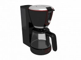Philips coffee maker 3d preview