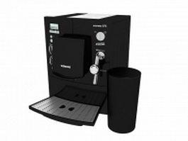 Siemens Espresso machine 3d model preview